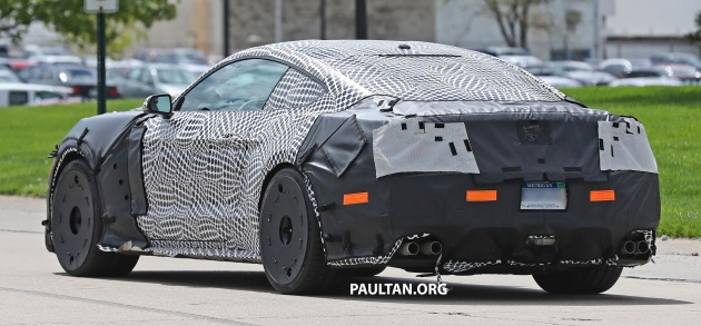 2017 Mustang Gt500 Twin Turbo >> Spied 2019 Ford Mustang Gt500 Twin Turbo V8