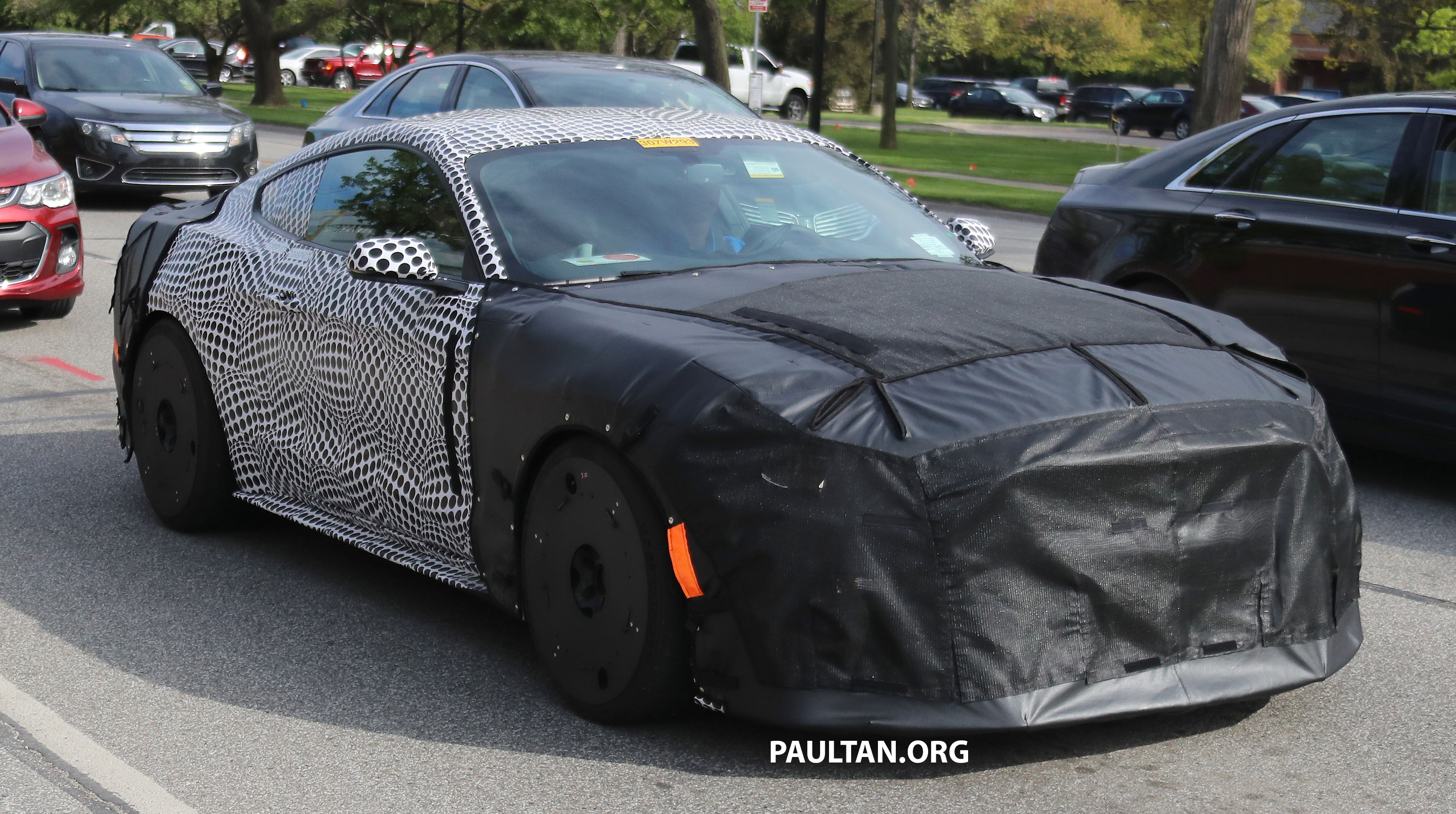 Spied 2019 Ford Mustang Gt500 Twin Turbo V8