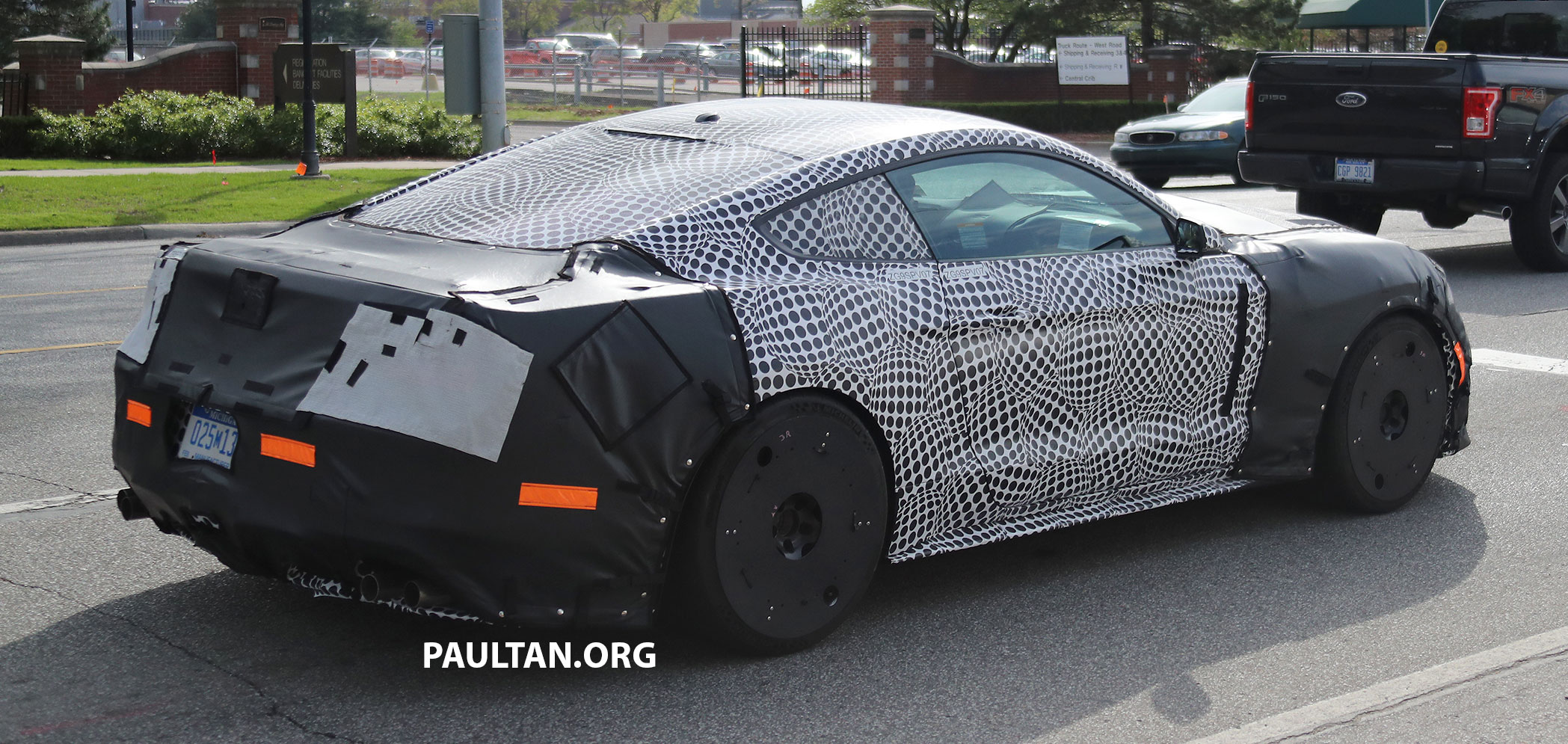 2019 Gt 500 >> SPIED: 2019 Ford Mustang GT500 – twin-turbo V8? Paul Tan - Image 655524