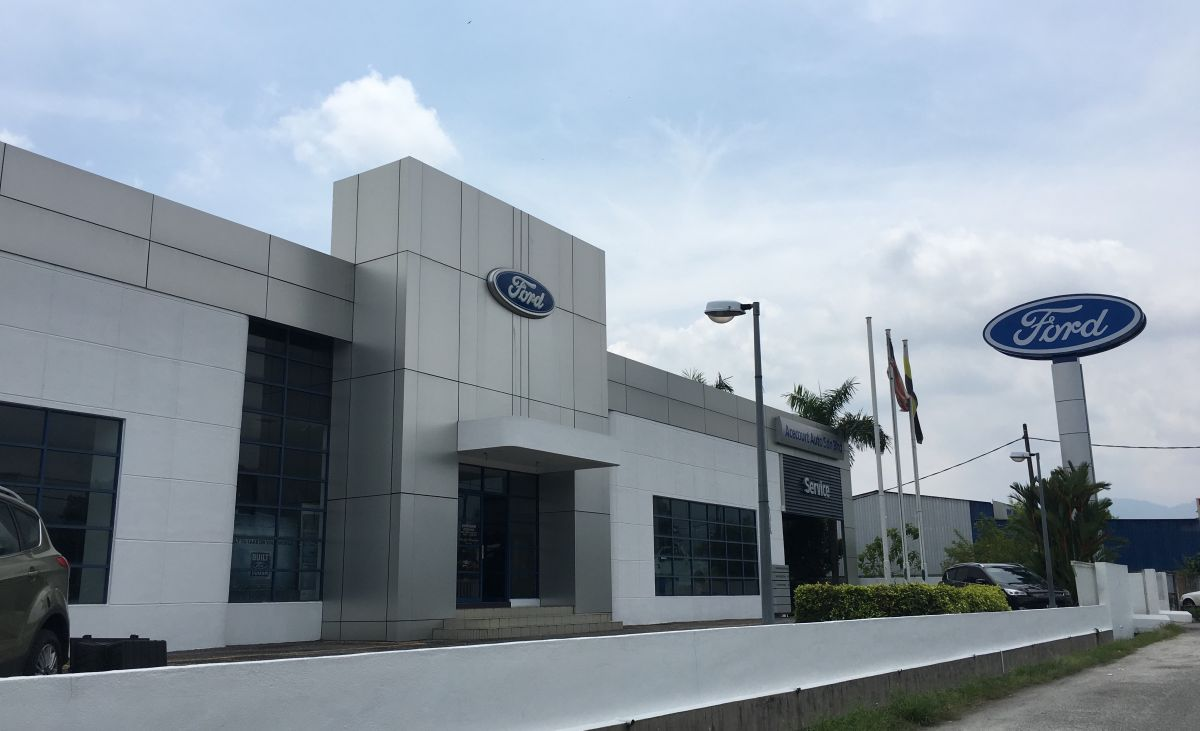 Newly Upgraded Ford 3s Dealership Opens In Taiping