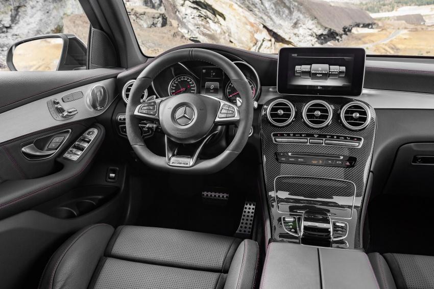 Mercedes-AMG GLC 43 4MATIC, GLC 43 4MATIC Coupe di M'sia – 3.0L biturbo V6, 362 hp, dari RM539k Image #656958
