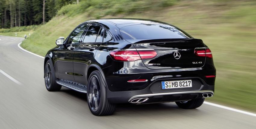 Mercedes-AMG GLC 43 4MATIC, GLC 43 4MATIC Coupe di M'sia – 3.0L biturbo V6, 362 hp, dari RM539k Image #656955