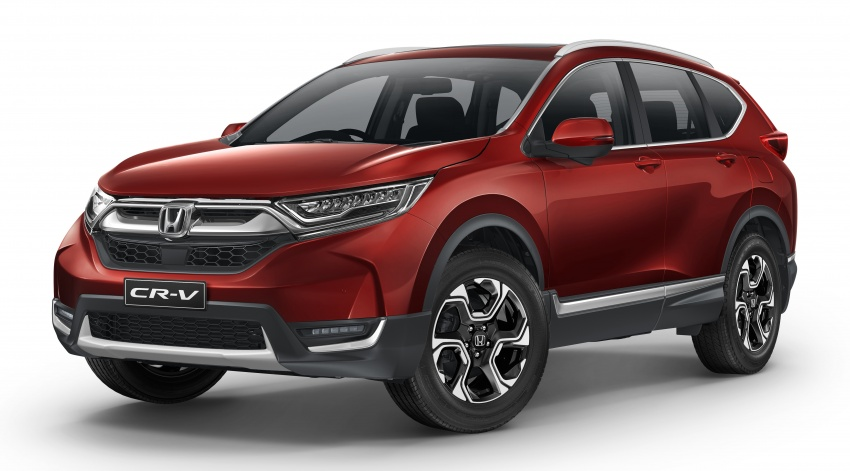 Honda CR-V to launch in Australia in July, from RM98k Image #666569