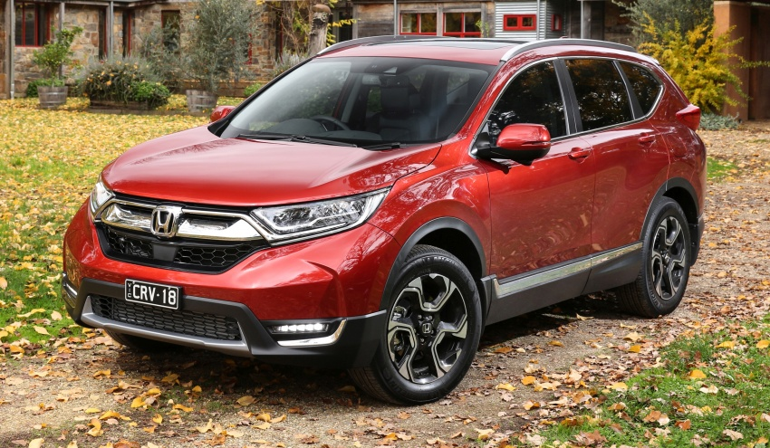 Honda CR-V to launch in Australia in July, from RM98k Image #666570