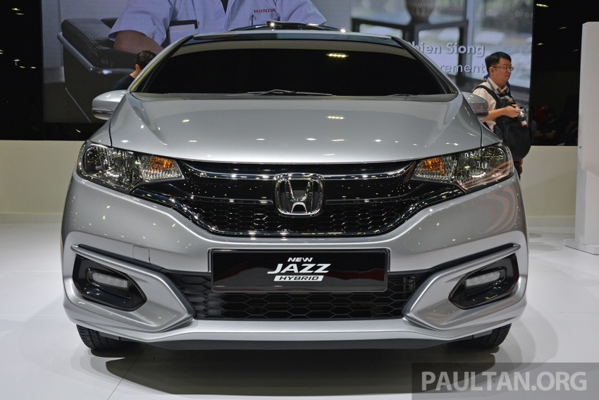 Honda Jazz facelift previewed in Malaysia – new 1.5L hybrid with 7-speed dual clutch available from August Image #658304