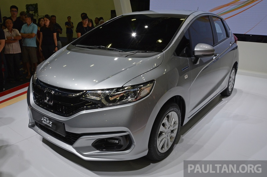 Honda Jazz facelift previewed in Malaysia – new 1.5L hybrid with 7-speed dual clutch available from August Image #658236