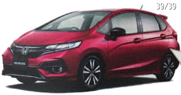 Honda Jazz Facelift Leaked Via Japanese Brochure