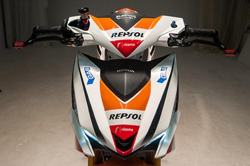Honda RS150R diubahsuai guna barang superbike Image #657083