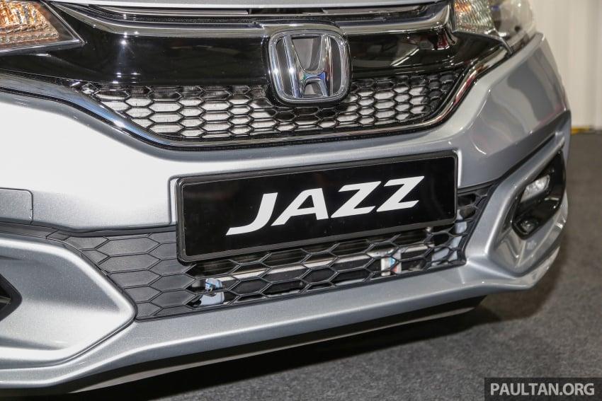Honda Jazz facelift – petrol model at SC KL Marathon Image #660196