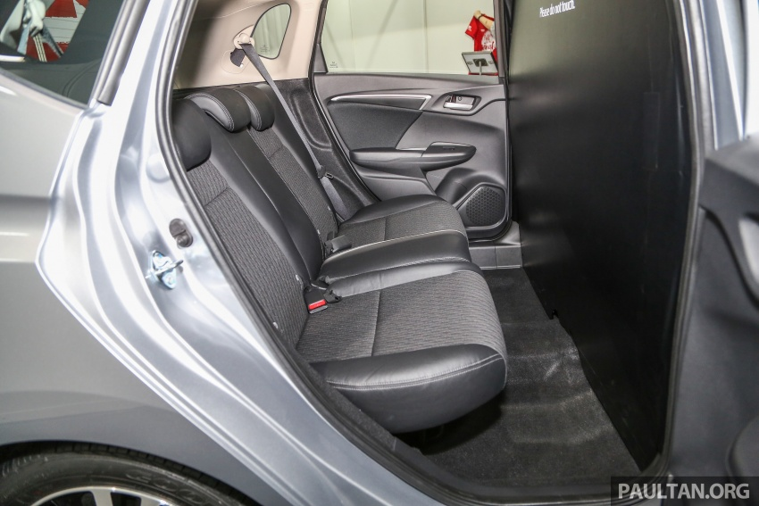 Honda Jazz facelift – petrol model at SC KL Marathon Image #660203