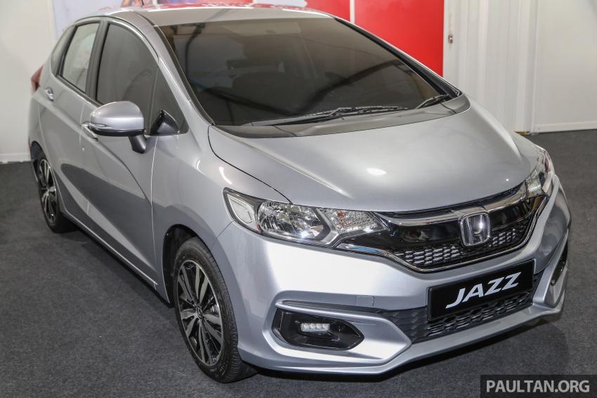 Honda Jazz <em>facelift</em> 1.5 V petrol dipamer ketika SCKLM Image #660234