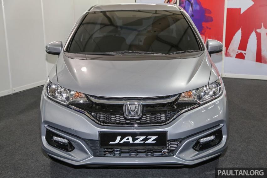 Honda Jazz <em>facelift</em> 1.5 V petrol dipamer ketika SCKLM Image #660236