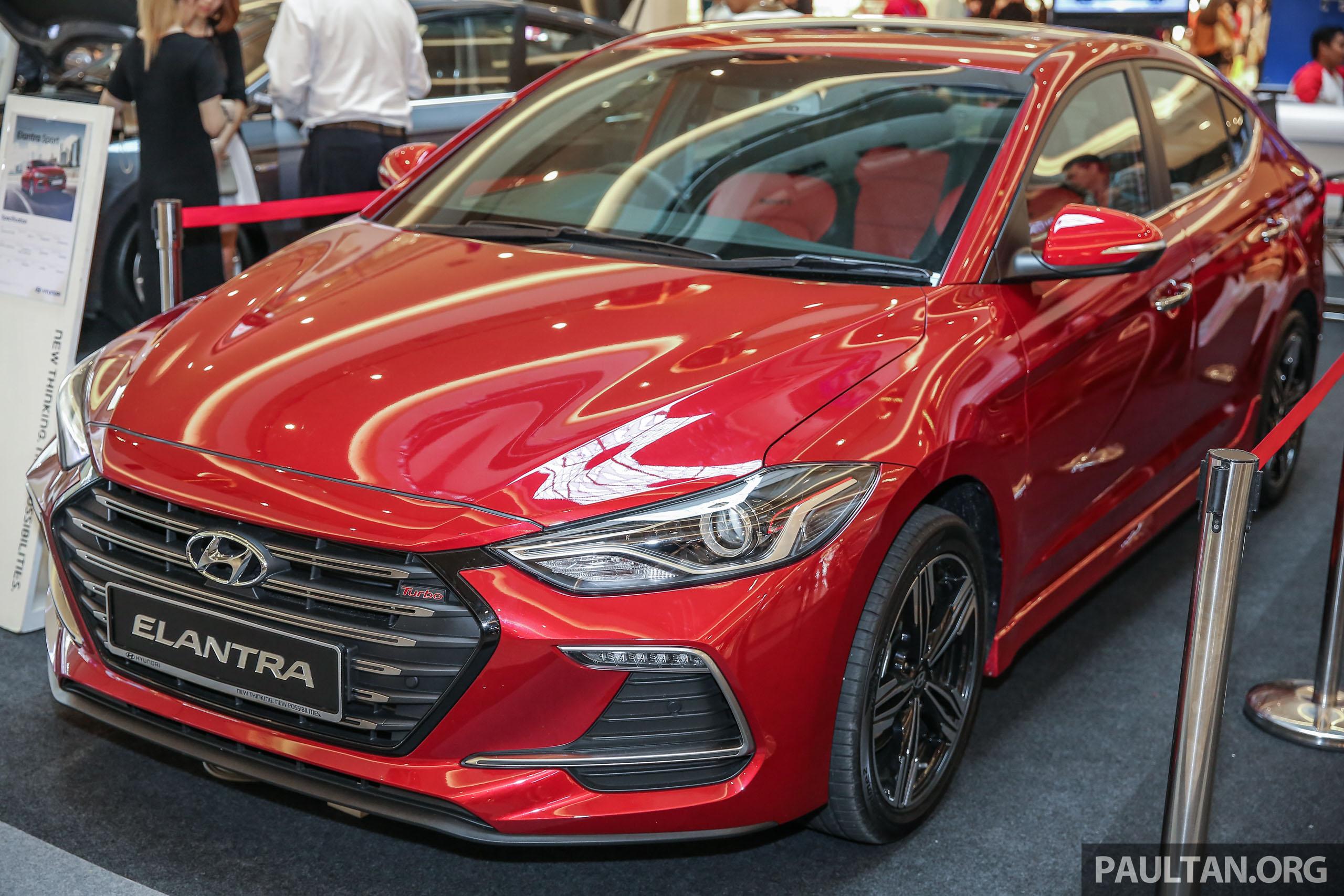 New Hyundai Elantra Sport T-GDi previewed in M'sia Image ...