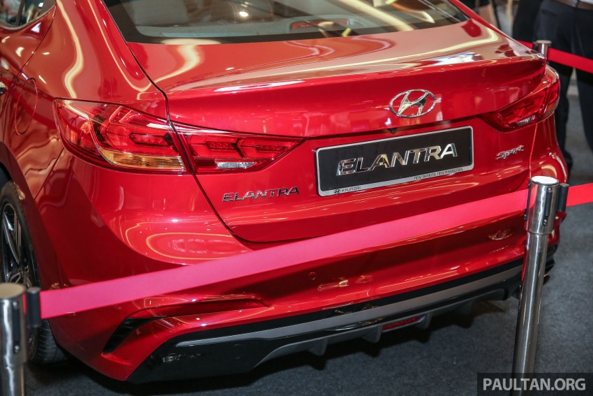 New Hyundai Elantra Sport T-GDi previewed in M'sia Image #657284