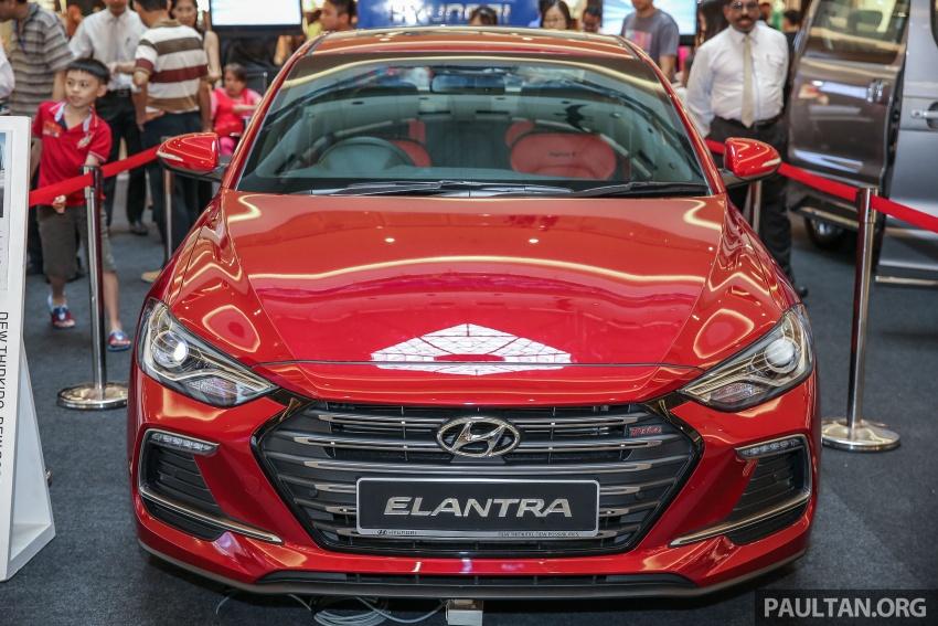 New Hyundai Elantra Sport T-GDi previewed in M'sia Image #657258