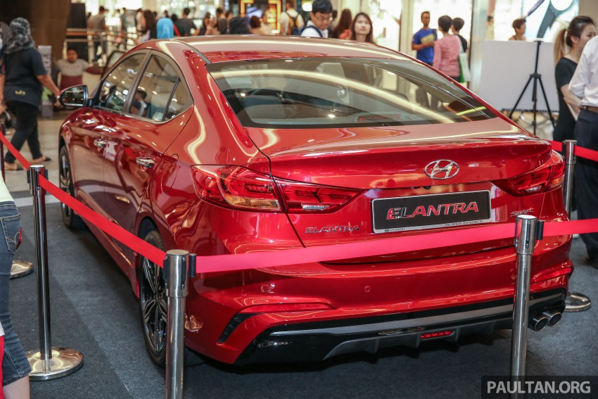 New Hyundai Elantra Sport T-GDi previewed in M'sia Image #657260