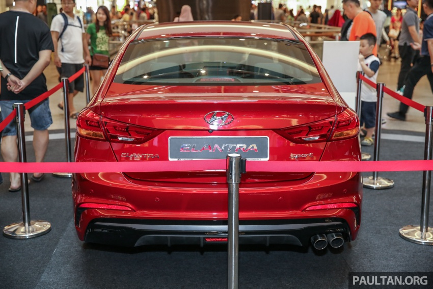New Hyundai Elantra Sport T-GDi previewed in M'sia Image #657262