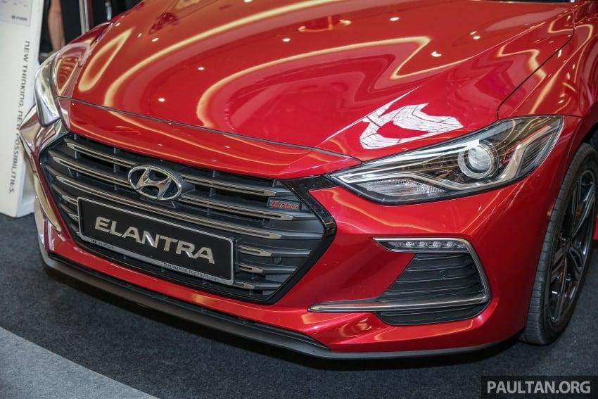 New Hyundai Elantra Sport T-GDi previewed in M'sia Image #657264