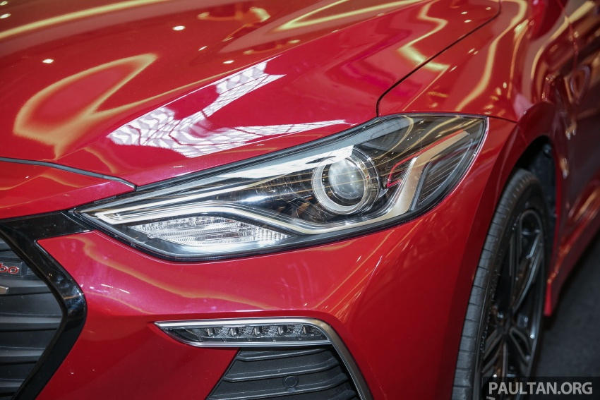 New Hyundai Elantra Sport T-GDi previewed in M'sia Image #657266