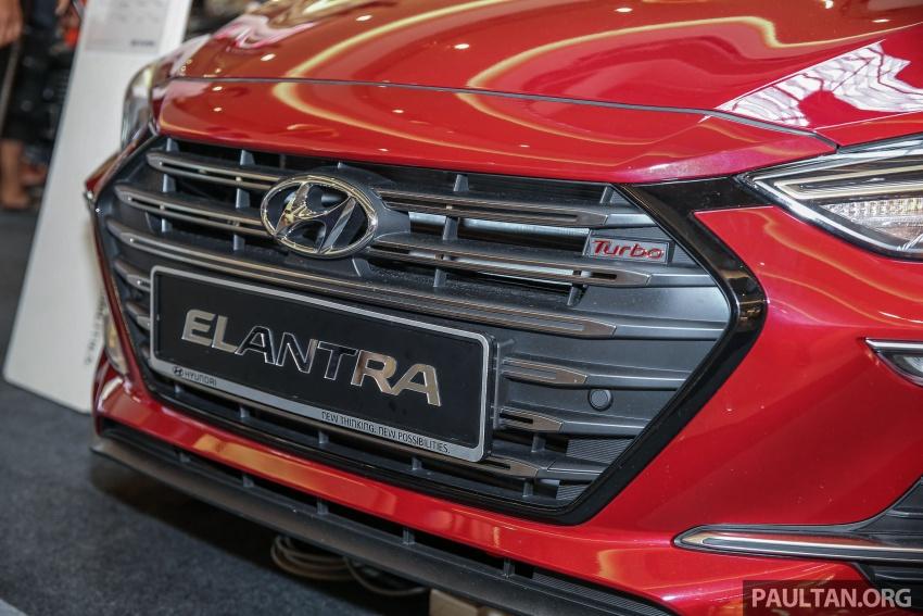 New Hyundai Elantra Sport T-GDi previewed in M'sia Image #657267