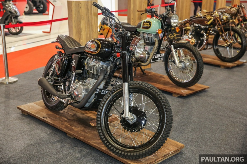 IIMS 2017 – the custom motorcycle scene in Indonesia Image #654081