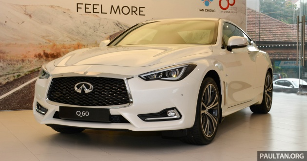 Infiniti Q60 Officially Launched In Malaysia Rm308 800