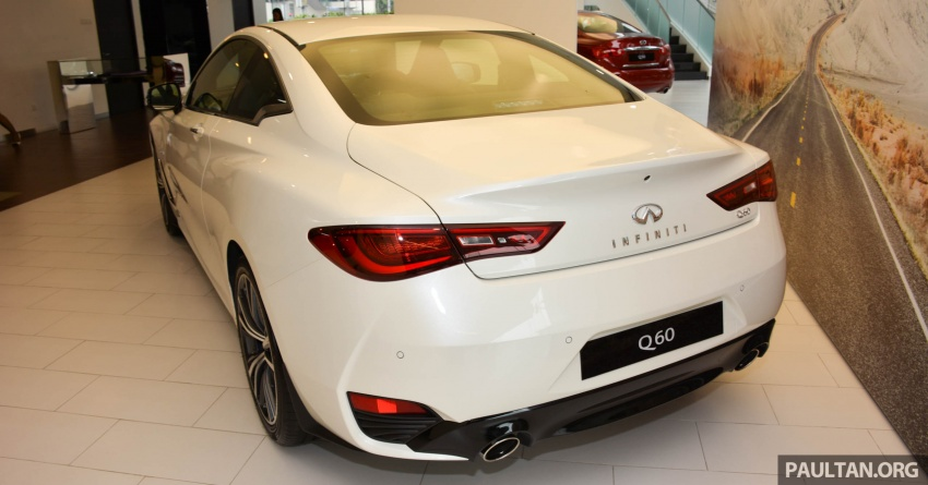 Infiniti Q60 officially launched in Malaysia – RM308,800 Image #653598