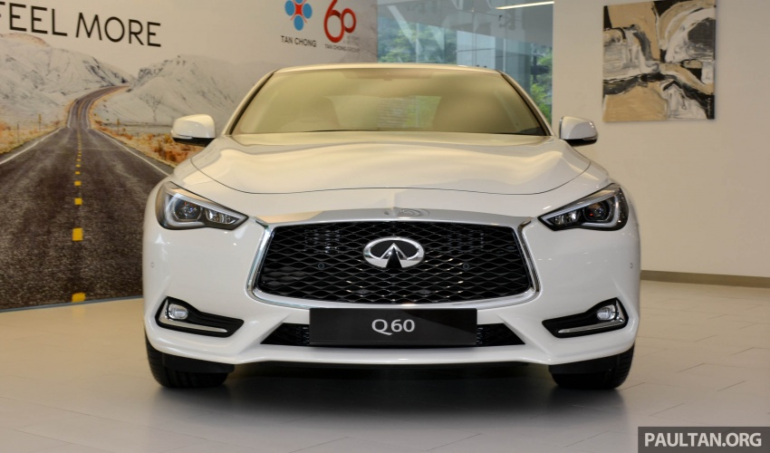 Infiniti Q60 officially launched in Malaysia – RM308,800 Image #653589