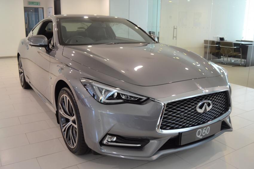 Infiniti Q60 officially launched in Malaysia – RM308,800 Image #653564
