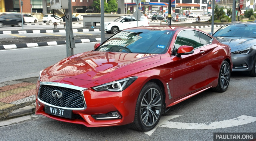 DRIVEN: Infiniti Q60 Coupe – standing out in the crowd Image #655153