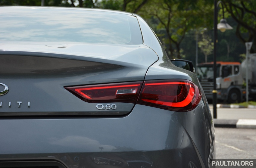 DRIVEN: Infiniti Q60 Coupe – standing out in the crowd Image #655163