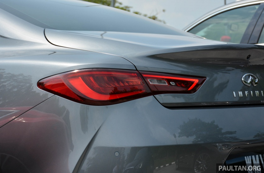 DRIVEN: Infiniti Q60 Coupe – standing out in the crowd Image #655164