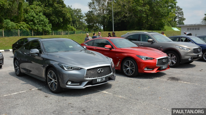 DRIVEN: Infiniti Q60 Coupe – standing out in the crowd Image #655166