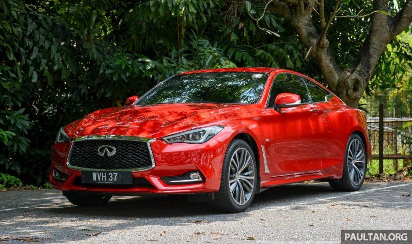 DRIVEN: Infiniti Q60 Coupe – standing out in the crowd Image #655167