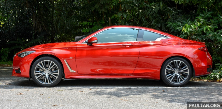DRIVEN: Infiniti Q60 Coupe – standing out in the crowd Image #655169
