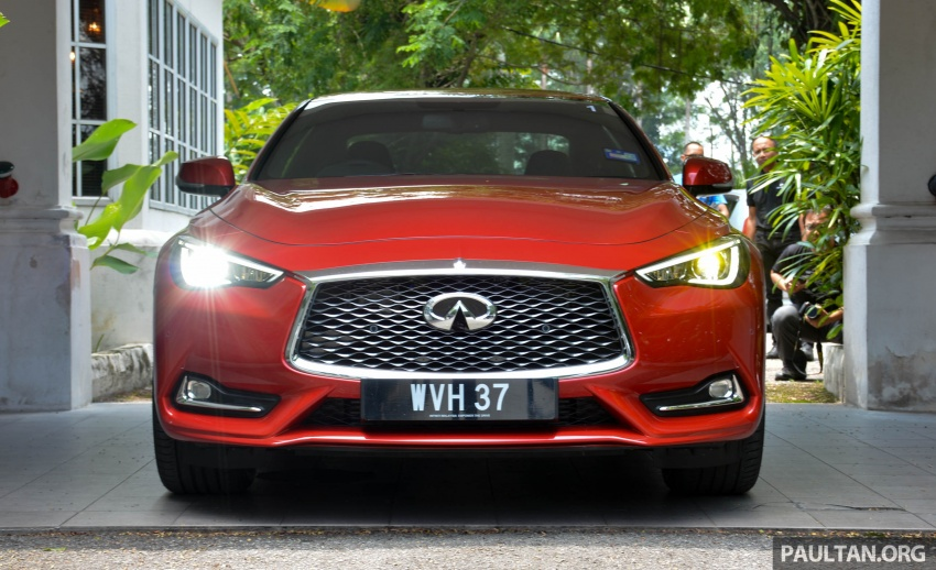DRIVEN: Infiniti Q60 Coupe – standing out in the crowd Image #655170