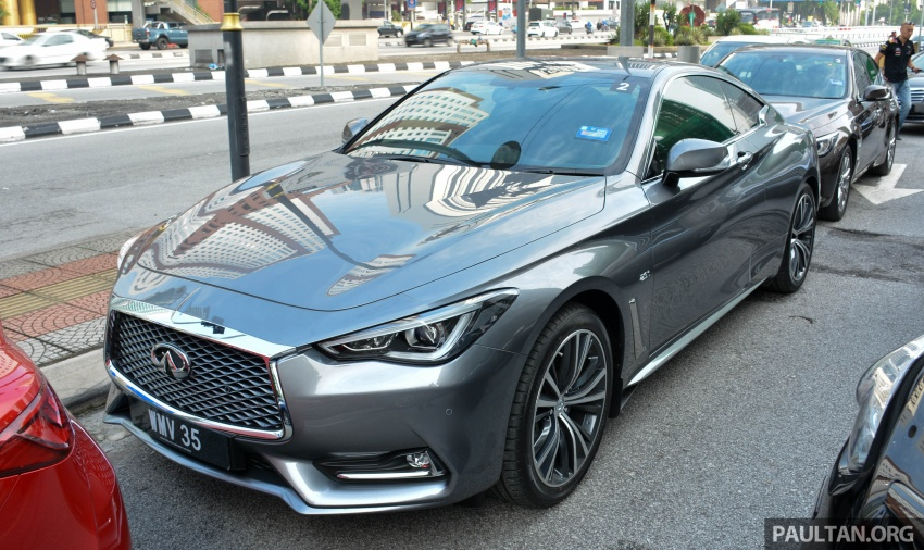 DRIVEN: Infiniti Q60 Coupe – standing out in the crowd Image #655154