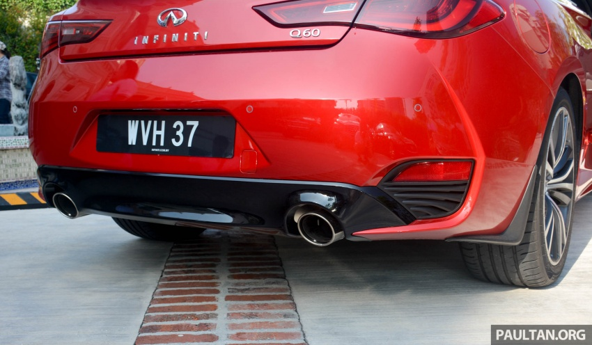 DRIVEN: Infiniti Q60 Coupe – standing out in the crowd Image #655172