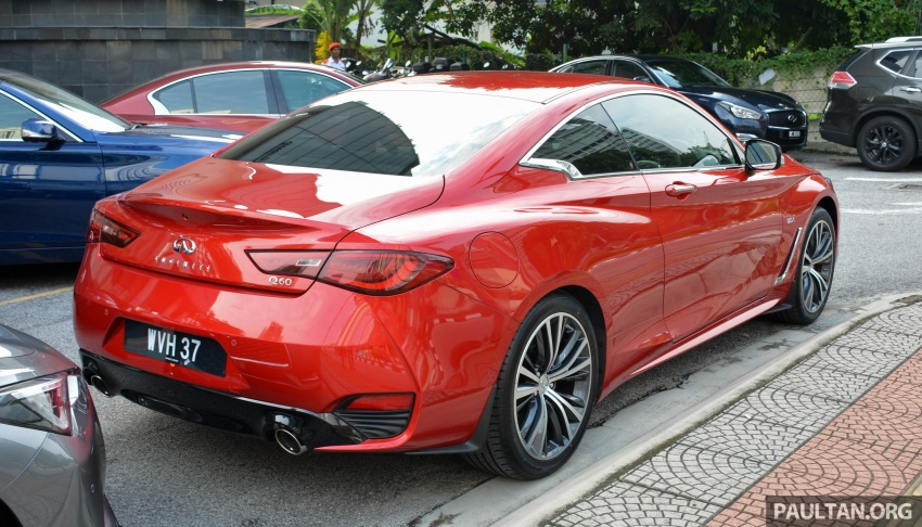 DRIVEN: Infiniti Q60 Coupe – standing out in the crowd Image #655155