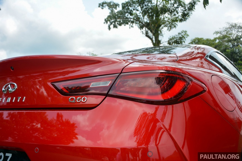 DRIVEN: Infiniti Q60 Coupe – standing out in the crowd Image #655184