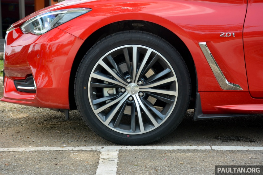 DRIVEN: Infiniti Q60 Coupe – standing out in the crowd Image #655188