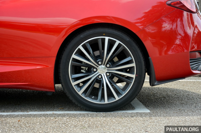 DRIVEN: Infiniti Q60 Coupe – standing out in the crowd Image #655189