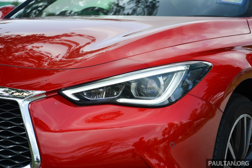 DRIVEN: Infiniti Q60 Coupe – standing out in the crowd Image #655190
