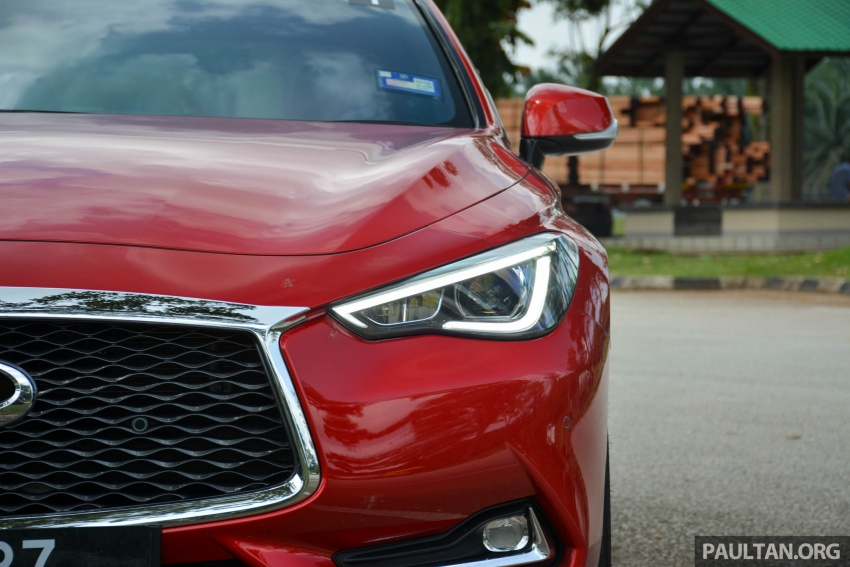 DRIVEN: Infiniti Q60 Coupe – standing out in the crowd Image #655191