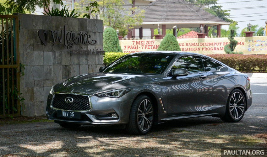 DRIVEN: Infiniti Q60 Coupe – standing out in the crowd Image #655192