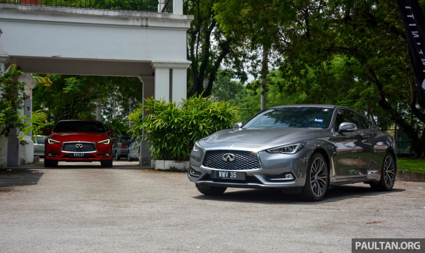 DRIVEN: Infiniti Q60 Coupe – standing out in the crowd Image #655194
