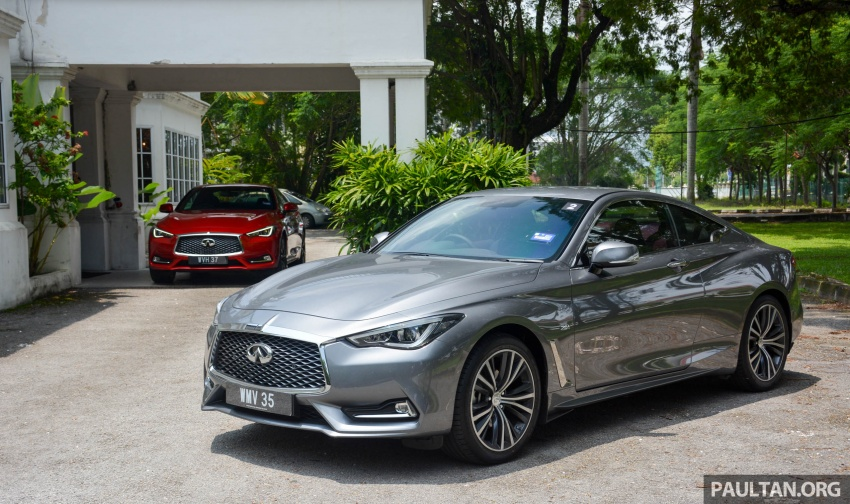 DRIVEN: Infiniti Q60 Coupe – standing out in the crowd Image #655197