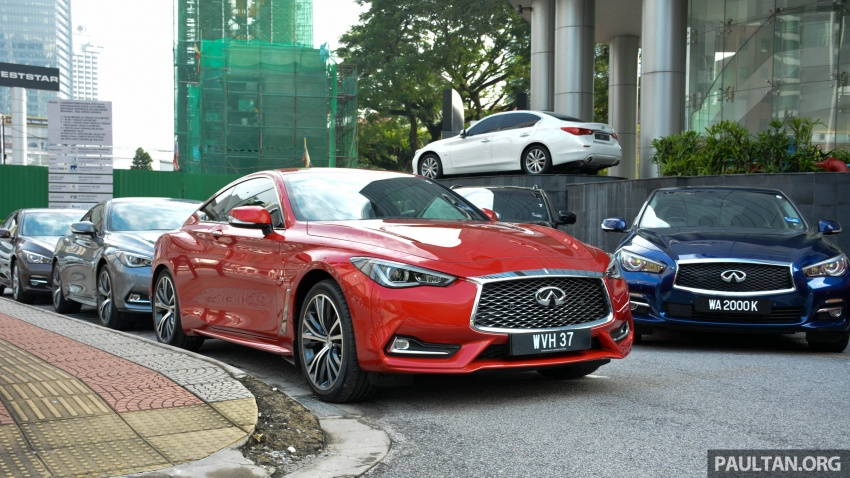 DRIVEN: Infiniti Q60 Coupe – standing out in the crowd Image #655156