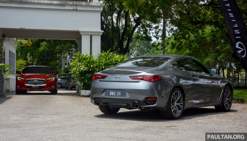 DRIVEN: Infiniti Q60 Coupe – standing out in the crowd Image #655198
