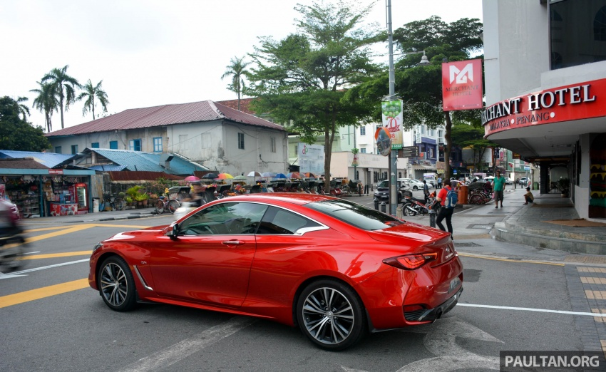 DRIVEN: Infiniti Q60 Coupe – standing out in the crowd Image #655204